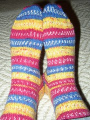 Crayon Stripe Socks