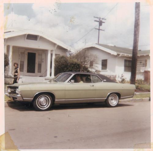 dad's 1968 green torino