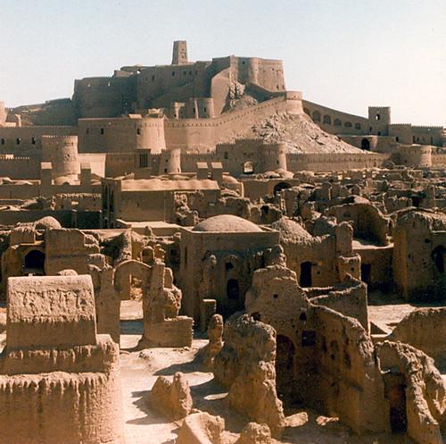 Бам,Иран,крепость Бам