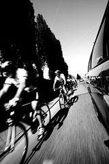 * (cycle race) (remography) Tags: auto street motion color car schweiz switzerland photo nikon foto strasse d70s bewegung nikkor farbe outstandingshots