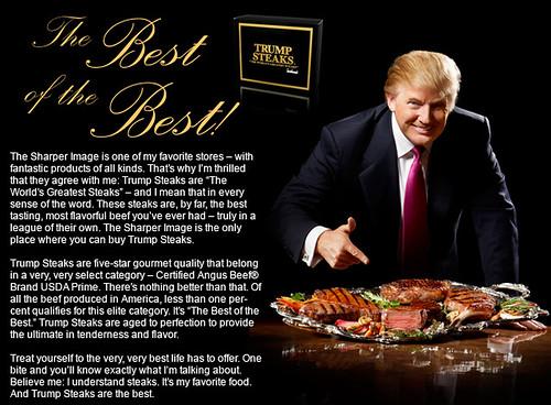 Trump's meat!