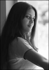Ghazal (Vivek M.) Tags: portrait model availablelight candid ghazal unaltraperlanera
