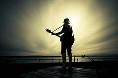 the sound (puja) Tags: seattle topf25 topf50 topf75 downtown guitar wideangle topf300 pugetsound topf150 topf100 topf250 topf200 olympicmountainsinthedistance sunflare kendal topf400 topf500 canon30d sigma1020 topf700 topf600 tenpositive