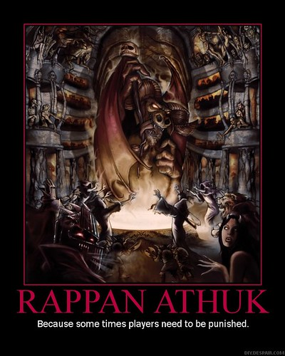Rappan Athuk: Because some times players need to be punished