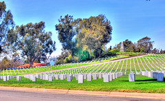 Los Angeles National Cemetery 5 (Pat's Travelogue) Tags: cemetery los angeles westwood blvd wilshire sepulveda