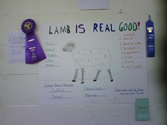 lamb is real good!