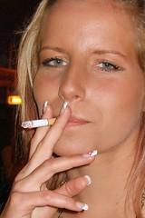 Last Smoke (Kecko) Tags: girls party girl beauty schweiz switzerland suisse fairground swiss smoke kecko ostschweiz fair smoking finepix fujifilm svizzera rheintal messe altstaetten susa 2007 altstätten rhema f31fd swissphoto rheintalbild