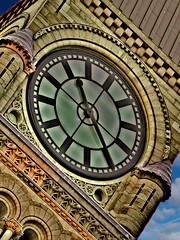 Tick Tock... (annpar) Tags: toronto architecture clockface ticktock oldcityhall blueribbonwinner abigfave imlateimlateforaveryimportantdate goldenphotographer checkoutthatsky