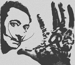 Salvador Dali - oil paintings and silent films