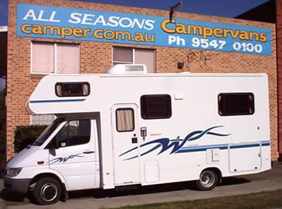 winnebago budget motorhome all seasons campervans campervan hire rental travel around australia budget tourism backpacker australian