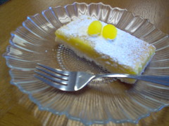 (lucidcats) Tags: light food yellow vancouver table cafe lemon dish plate fork rosemary wa thebestyellow