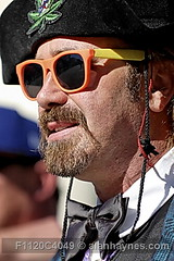 F1120C4049 (Alan Haynes) Tags: ca costumes portrait usa sunlight silly color colors hat sunshine sunglasses closeup portraits beard outside outdoors goatee daylight costume clothing funny colorful comedy humorous absurd outdoor candid profile humor hats vivid tie bowtie sunny humour clothes portraiture ridiculous unusual wardrobe colourful pasadena closeups nonsense wit rare sideprofile bearded extraordinary comical witty apparel rarity vibrantcolor attire uncommon closecrop nonsensical vibrantcolors saturatedcolor closein outofdoors closecrops outoftheordinary saturatedcolors vividly rareness differentialfocus outofdoor f1120c4049