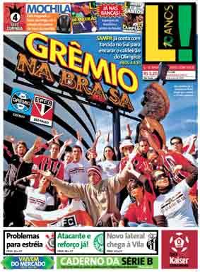 Grêmio na Brasa
