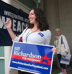 California: Hottest campaign staff/volunteer - Richardson