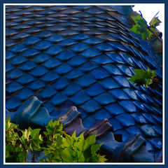 Casa Batll ~ detail (felber) Tags: barcelona blue roof espaa detail tree green rooftop window azul architecture casa spain mediterranean modernism catalonia catalunya leef modernismo casabatll barcelone modernisme gaud batll passeigdegrcia blueribbonwinner felber plavo antonigaud 25faves abigfave 5for2 superaplus aplusphoto travelerphotos diamondclassphotographer flickrdiamond