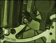 Disc Brakes (mliebenberg) Tags: bike bicycle cycle brakes disc tektro