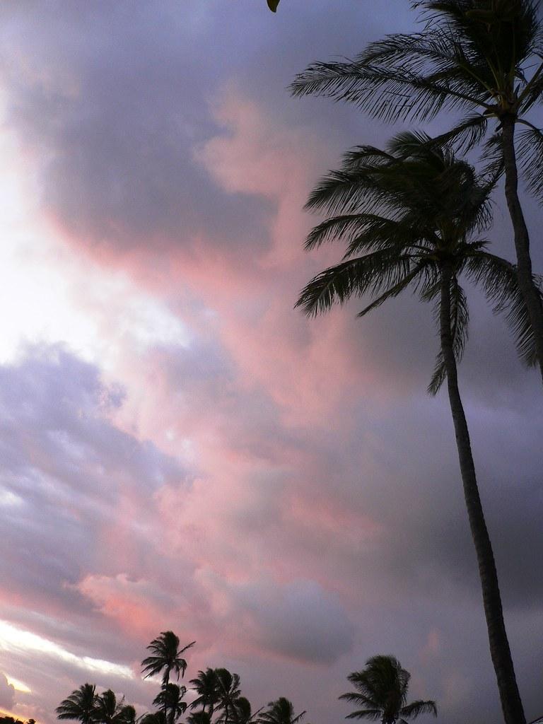 Poipu Beach Sunset