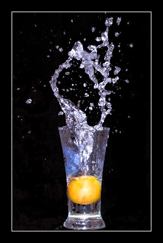 When A Tomato Pushed The Water Out (AHMED...) pakistan red stilllife black water glass fruit tomato droplets stream splash ahmed sind sindh highspeed muhammad fruitsplash flickrsbest mehrabpur abigfave impressedbeauty superhearts