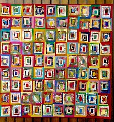 """Territoires de Dsobissance"" (manu/manuela) Tags: windows art architecture crazy catchycolours quilt multicoloured textile quilting myart patchwork manuela mycreation handquilted 10faves quiltmain"
