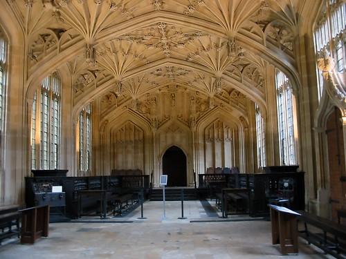 Bodleian Library: Divinity School