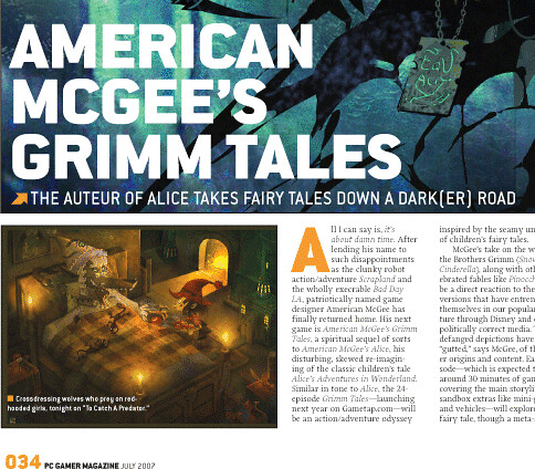 PC Gamer - Grimm