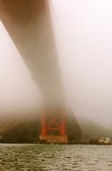 The Golden Gate Bridge (a g n  s) Tags: sanfrancisco california usa fog us foggy goldengatebridge northamerica brouillard californie ameriquedunord