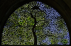 The 'Tree of Life' - Identity of Ahmedabad (Divs Sejpal) Tags: sculpture india tree green window monument stone architecture grill complexity iima complex iim gujarat ahmedabad protected arched divs sultanate divyesh sejpal siddisayidmosque bsbsymbol
