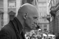 To be possessed (ingirogiro) Tags: portrait people bw italy rome strada italia minolta actor 5d ritratto bianconero artista lazio streetartists