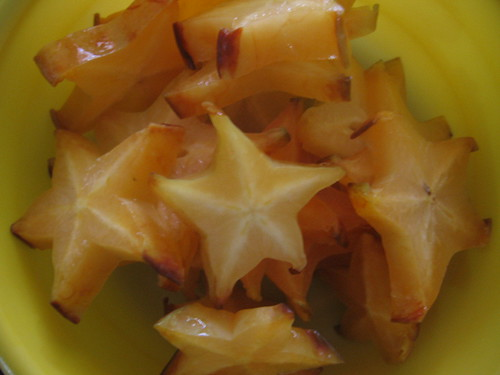 Star Fruit Closeup