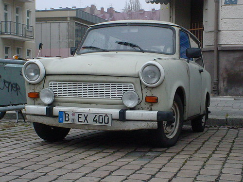 East Berlin Trabant
