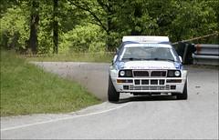 Lancia Delta Integrale (*janina*) Tags: auto cup car race climb do hill may historic slovenia challenge 2007 dirka maj sevnica gorska kveten zavod vrchu