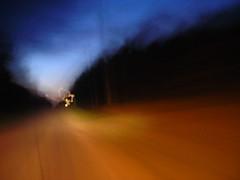 Rabbit Island Road (danger.esque) Tags: road twilight wikwemikong rabbitisland