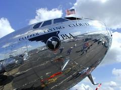 Boeing Stratoliner 307 (HenryFigueroa) Tags: plane airplane flying interesting flight boeing propeller 307 kbfi stratocruiser