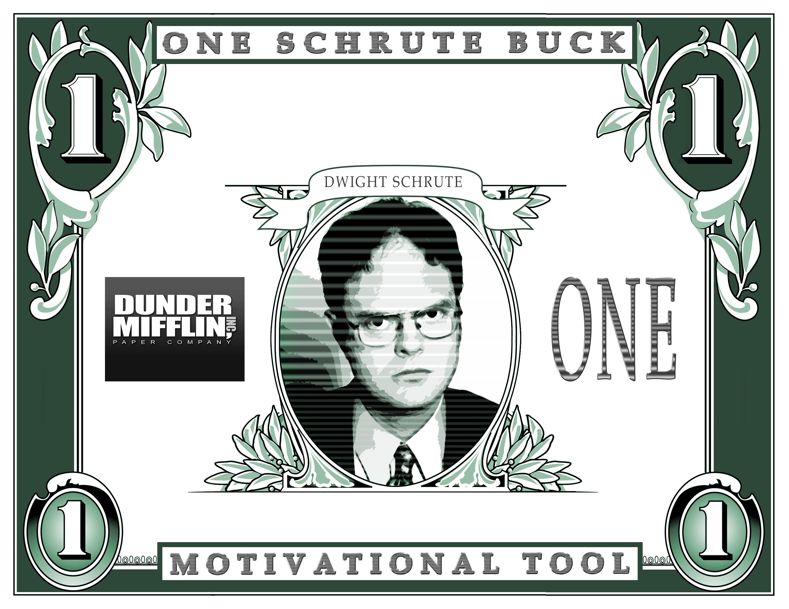 Printable Dwight Schrute Bucks Eden Escape