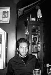 Engagement party (John Althouse Cohen) Tags: bw wisconsin bar madison ari engagementparty gennas
