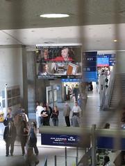 Paris Airport Wayfinding (brunoboris) Tags: paris advertising airport terminal blocked signage arrow klm airfrance wayfinding roissy cdg aerogare2 aerogare charlesdegaullesairport lorealunesco2007 prixlorealunesco