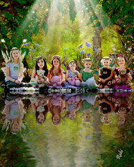 7 girls! (mylaphotography) Tags: reflection art fairytale digitalart fairy fantasy magical rahi childphotography jaber flickrsbest impressedbeauty superbmasterpiece diamondclassphotographer mylaphotography 7girls michiganstudiophotography fairytalephotography