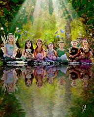 7 girls! (mylaphotography) Tags: reflection art fairytale digitalart fairy fantasy magical rahi childphotography jaber flickrsbest impressedbeauty superbmasterpiece diamondclassphotographer mylaphotography 7girls michiganstudiophotography fairytalephotography