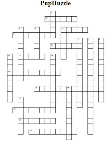 PupHuzzleClues