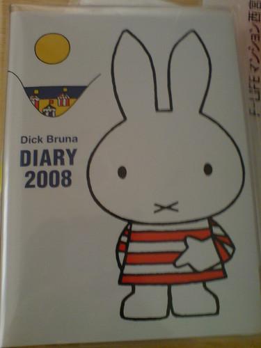 Miffy Mini Diary