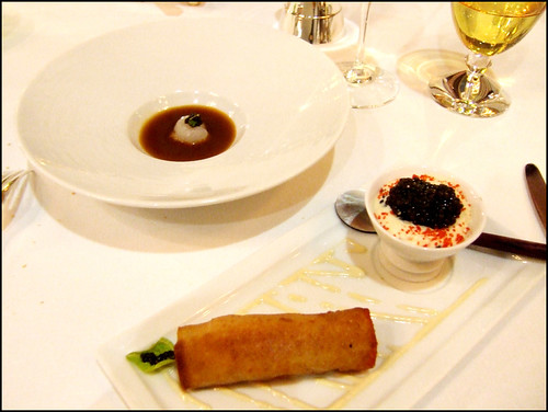 Les Ambassadeurs (Paris) - Iranian Caviar, Nage Corsee, Langostine