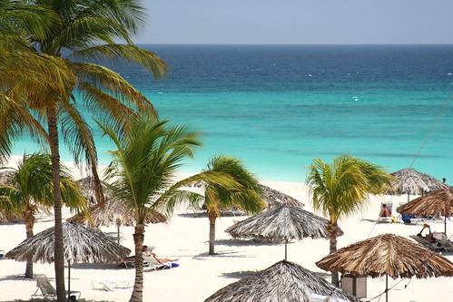 Vista del Resort Bucuti Beach