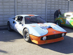 Ferrari Gulf (DeFerrol) Tags: blue orange car gulf ferrari classics cartagena clasic