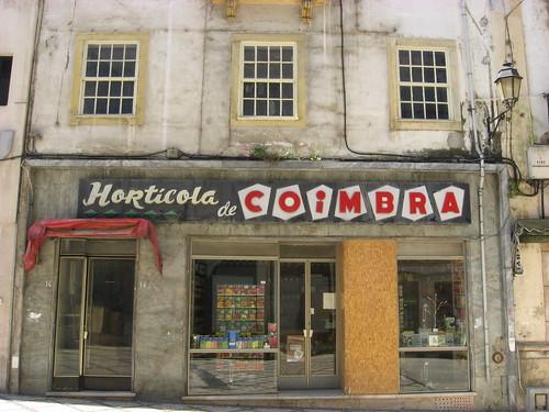 A Coimbra horticulture store.