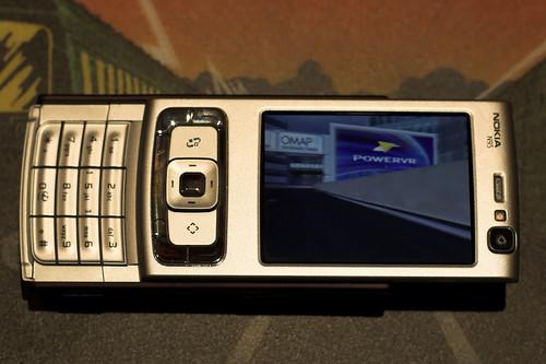 Nokia N95 + PVRRacer