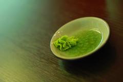wasabi zen (maxivida) Tags: food fish green 1025fav sushi table asian japanese restaurant rice delicious zen wasabi maxivida gastronomy