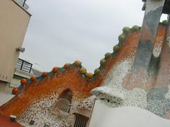 Ode to a fiery dragon tale (Abby Phoenix) Tags: barcelona europe casabatll