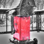 Snowy Gas Grill, 2007/04/16 thumbnail