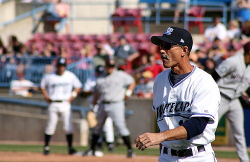 Whitecaps Manager Tom Brookens