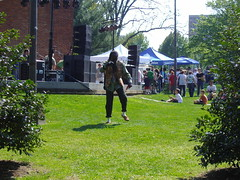 Dreadlock Dancin' Fool at the Earth Day Festival